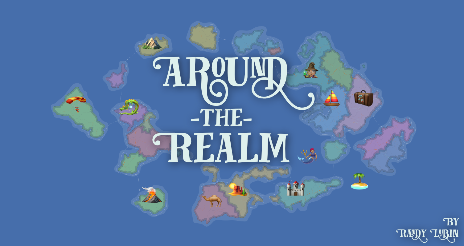 the cover of around the realm